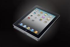 Free Ipad 2 On Black Glass &x28;clipping Path&x29; Stock Image - 21493921