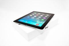 IPad 4 avec IOS 7 Photographie stock