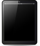 Ipad Apple  Black Stock Photo