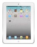 iPad blanco 2 ilustración del vector