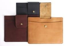 Ipad case leather Stock Photos