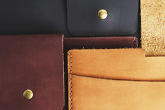 Ipad case leather Royalty Free Stock Photos
