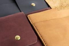 Ipad case leather Stock Photography