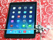 IPad for Christmas Royalty Free Stock Photography