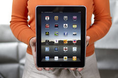 iPad de Apple Imagenes de archivo