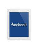Ipad facebook Royalty Free Stock Photography