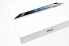 IPad 4 handlu detalicznego pudełko Zdjęcia Stock