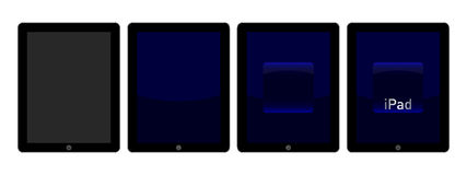 IPad intro animation Stock Photography