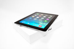 IPad 4 with iOS 7 Stock Photography