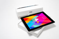 IPad 4 with iOS 7 Royalty Free Stock Photography