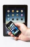 ipad jabłczany iphone Zdjęcie Royalty Free