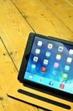 iPad Lucht Royalty-vrije Stock Afbeeldingen