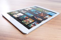 Ipad, Mac, Apple, Mobile, Tablet Royalty Free Stock Photography