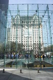 IPad mania. Apple store in Manhattan, selling iPads Royalty Free Stock Photo