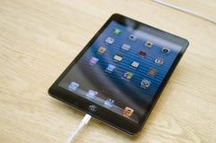 Ipad mini black. Ipad mini in apple store, 235 Regent Street London, England stock images