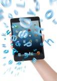 Ipad mini - todo en mi mano Foto de archivo libre de regalías