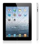 iPad neuf cassé 3 d'Apple Photographie stock