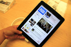 IPad on Sale stock photography