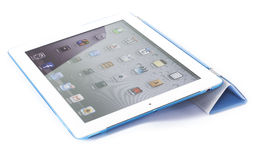 Ipad with SmartCover Stock Images
