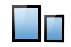 Ipad tablet and mini ipad tablet Stock Images