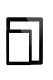 Ipad tablet and mini ipad tablet Stock Photo
