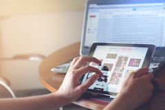 Ipad, Tablet, Technology, Touch Stock Photography