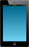 IPad. Vector illustration of black iPad Stock Images