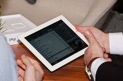 IPad2 at  Royalty Free Stock Photo
