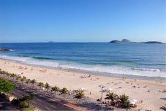 Ipanema海滩在里约热内卢 免版税库存照片