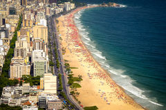 Ipanema Beach Royalty Free Stock Image