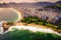 Ipanema Beach Royalty Free Stock Photography