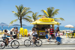 Free Ipanema Beach Boardwalk Kiosk Stock Photo - 60418340