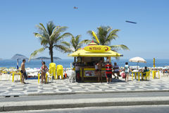 Ipanema Beach Boardwalk Kiosk Stock Images