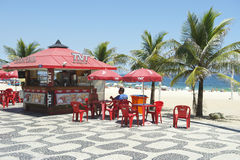 Ipanema Beach Boardwalk Kiosk Royalty Free Stock Image