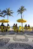 Ipanema Beach Boardwalk Kiosk Royalty Free Stock Photography