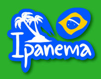 Ipanema beach Stock Image