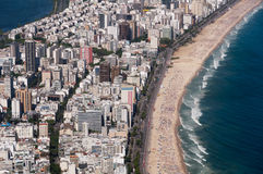 Ipanema Beach Curves Royalty Free Stock Photo