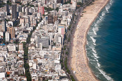 Ipanema Beach Curves Stock Photography