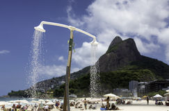 Ipanema Beach in Rio De Janeiro Royalty Free Stock Photo