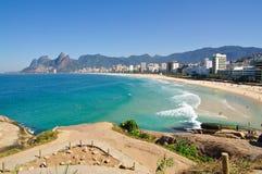 Ipanema beach royalty free stock photo