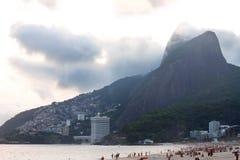 Ipanema Beach Rio de Janeiro Royalty Free Stock Photo