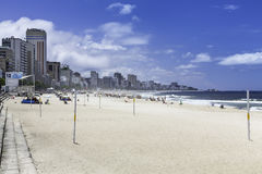 Ipanema Beach. Rio de Janeiro Royalty Free Stock Images