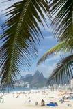 Ipanema Beach Rio de Janeiro Brazil Arpoador royalty free stock photography