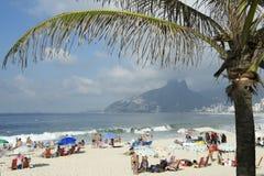 Ipanema Beach Rio de Janeiro Brazil Arpoador stock photos