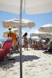 Ipanema Beach Rio de Janeiro Brazil Summer Scene Royalty Free Stock Photography