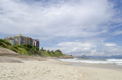 Ipanema beach in Rio de Janeiro Royalty Free Stock Photos