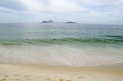 Ipanema beach in Rio de Janeiro Stock Photos