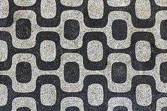 Ipanema mosaic Stock Image
