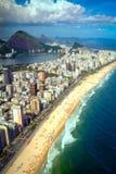 Ipanema strand arkivbilder