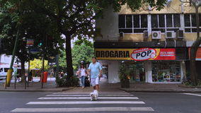 Ipanema Time Lapse Morning Intersection stock video footage